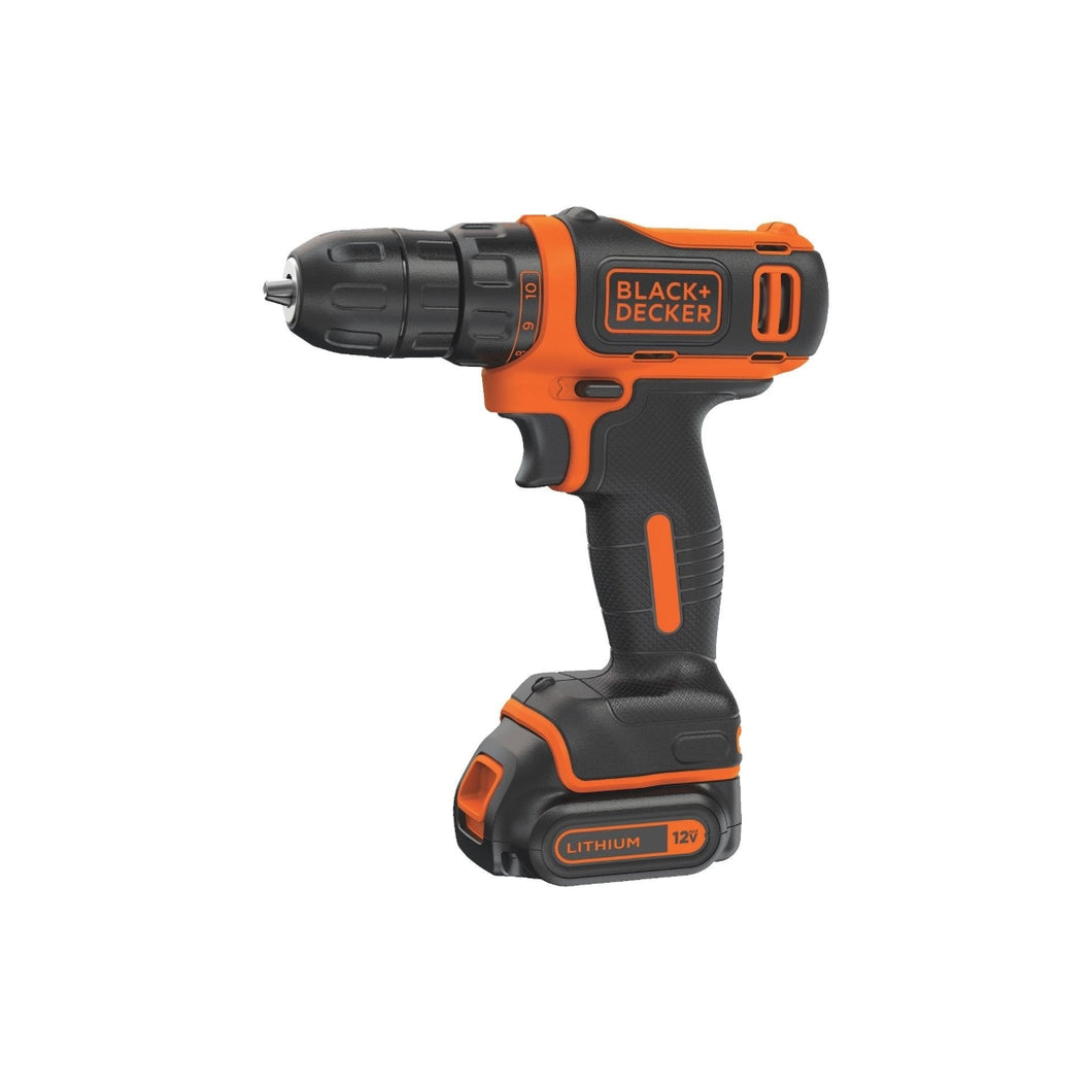 Black & Decker 12V MAX Li-Ion 3/8