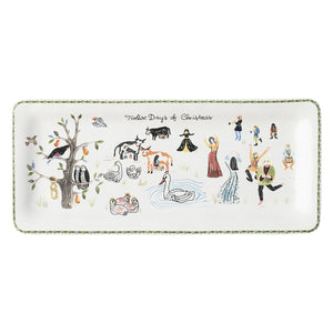 Juliska Twelve Days of Christmas Rectangular Hostess Tray