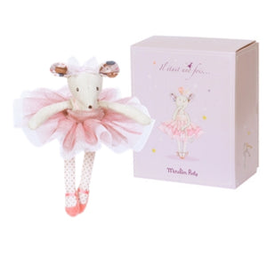 Moulin Roty Ballerina Mouse Doll