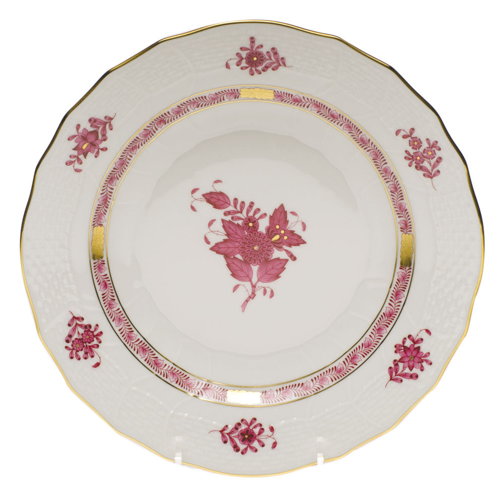 Herend Chinese Bouquet Raspberry Dessert Plate