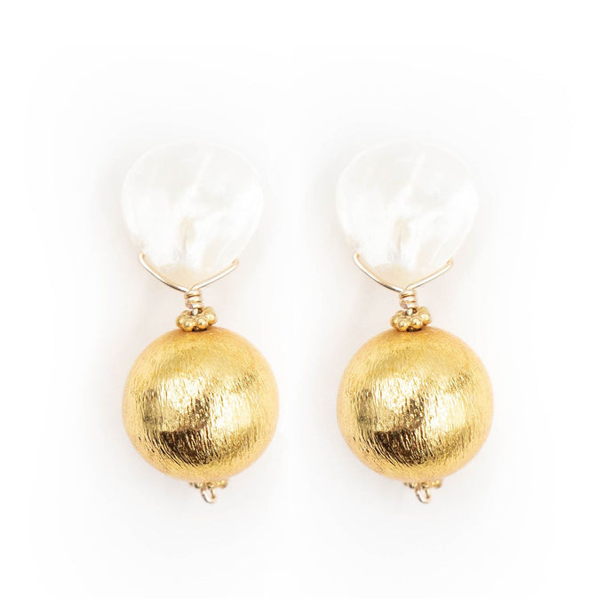 Hazen Claire Earrings - Gold