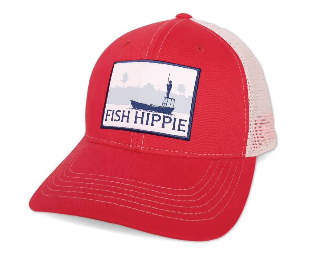 Fish Hippie Flats Dream Trucker Hat