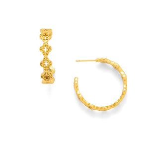 Julie Voss Florentine Hoop Earrings