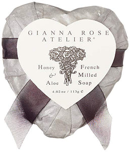 Gianna Rose Heart Soap Silver