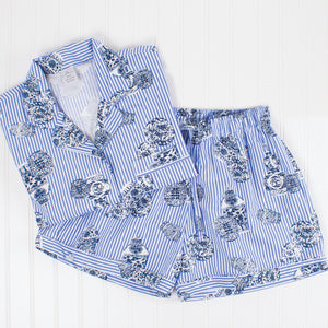 Ginger Jar Printed Pajama Set