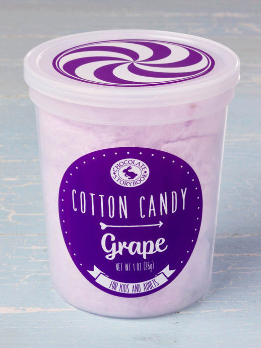 Grape Cotton Candy by Chocolate Storybook