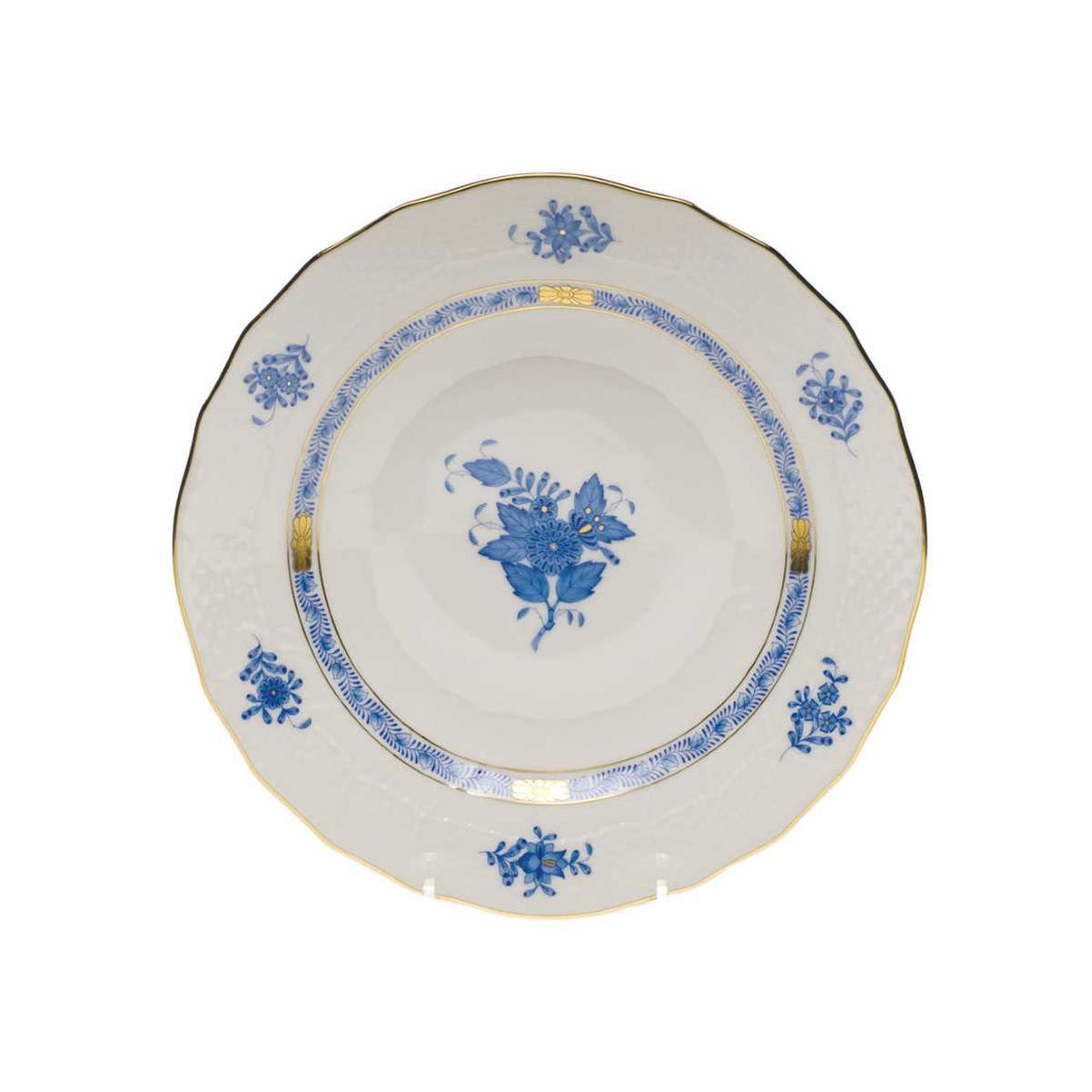 Herend Chinese Bouquet Blue Dessert Plate