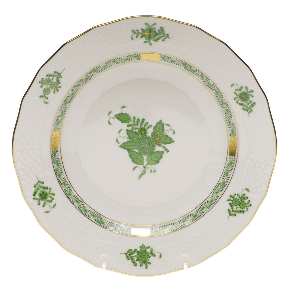 Herend Chinese Bouquet Green Dessert Plate