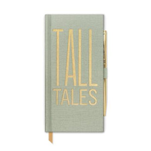 "Designworks Ink Skinny Journal With Pen - ""Tall Tales"""