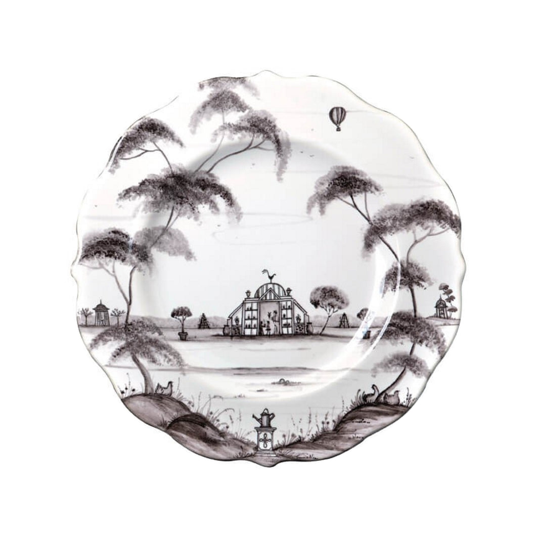 Juliska Country Estate Flint Dessert/Salad Plate Conservatory