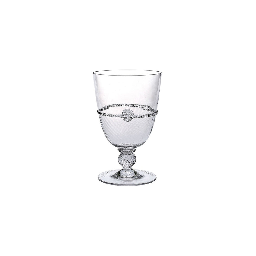 Juliska Graham Clear Footed Goblet