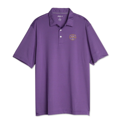 Johnnie-O LSU National Champions 2019 Polo