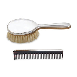 Reed & Barton Carolina Sterling Girl's Brush & Comb Set