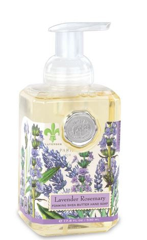 Lavender Rosemary Foaming Hand Soap by Michel Design Works