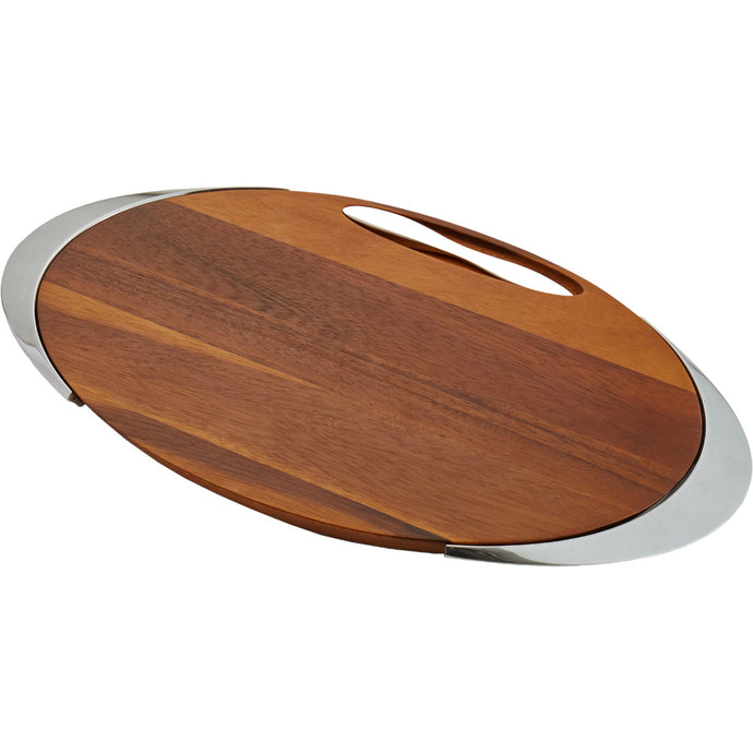 Nambe Eclipse Cheeseboard with Knife