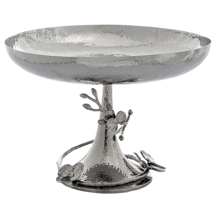 Michael Aram White Orchid Footed Centerpiece Bowl