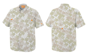 Old Tejas Camouflage Shirt - Field Tan