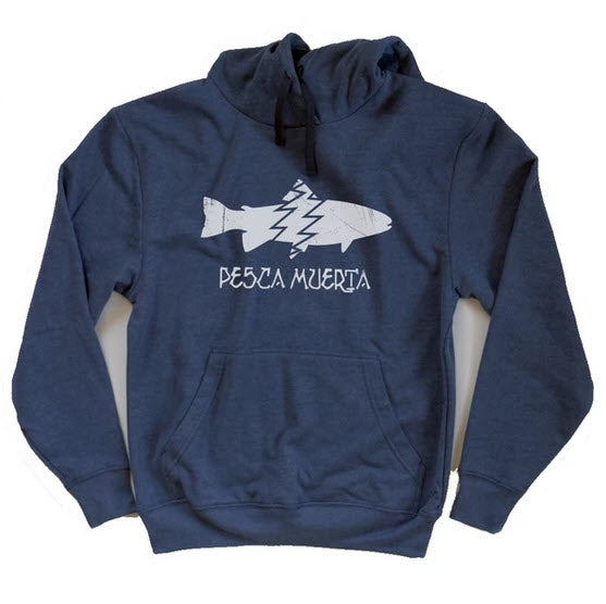Pesca x Recover Recycled Pullover Hoody - Pesca Muerta
