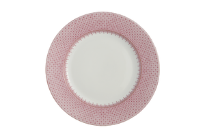 PINK LACE DINNER PLATE MOTTAHEDEH