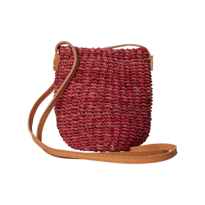 Sarah Stewart - Straw Poof Bag - Natural