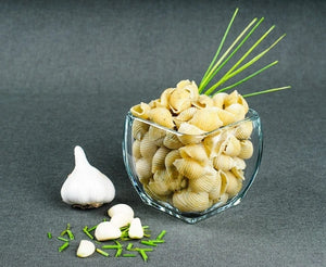 Pappardelles - Garlic Chive Sea Shell