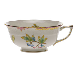 Queen Victoria Pink Edge Tea Cup