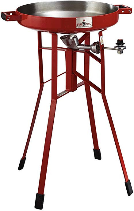 FIRE DISC - ORIGINAL, Tall Portable Cooker, Red
