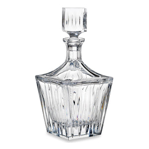 Reed & Barton Soho Crystal Square Decanter