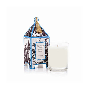 Seda France Classic Toile Pagoda Box Candle - Japanese Quince