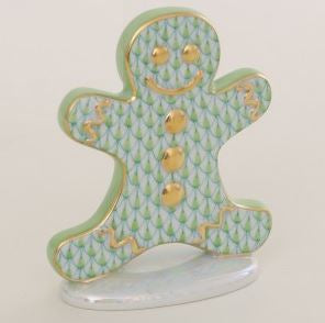Herend Gingerbread Man, Key Lime