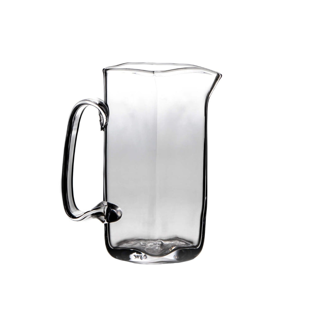 Simon Pearce Woodbury Glass Pitcher - Medium