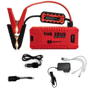 The Zeus - Portable Jump Starter & USB Charger