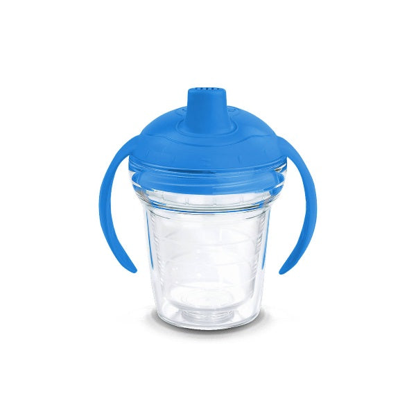 Tervis Clear 6oz Sippy Cup - Blue Lid