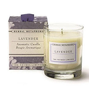 Thymes Lavender Candle in Glass