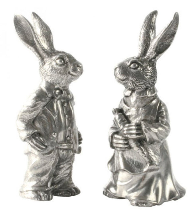 Vagabond House Dressed Rabbits Salt & Pepper Shakers