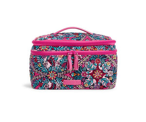 Vera Bradley Brush Up Cosmetic Case - Kaleidoscope