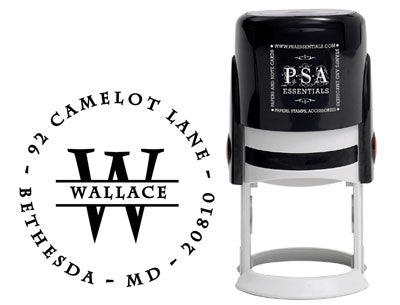 Custom Self-Inking Address Stamper by PSA Essentials