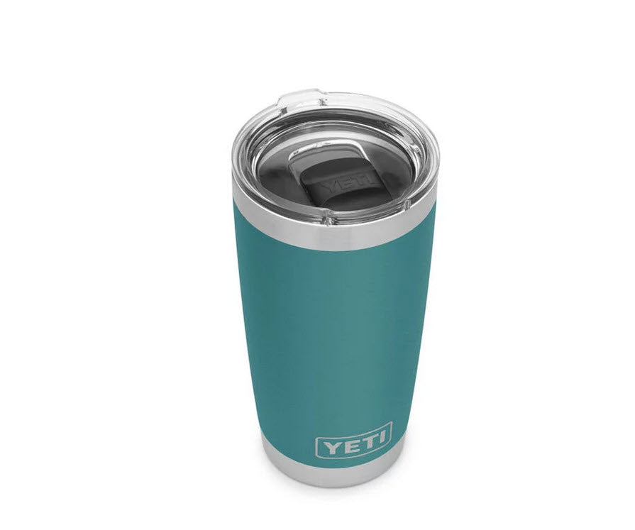 YETI River Green 20 ounce Rambler