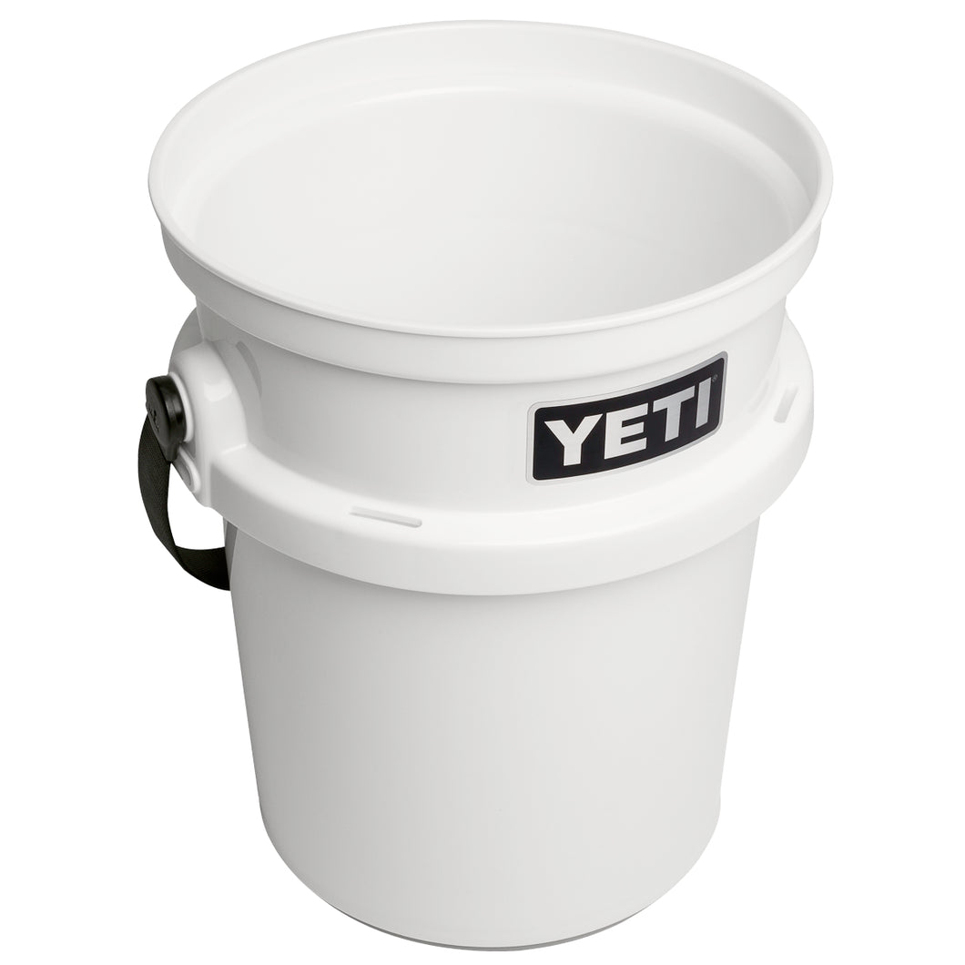 Yeti LoadOut Bucket - White