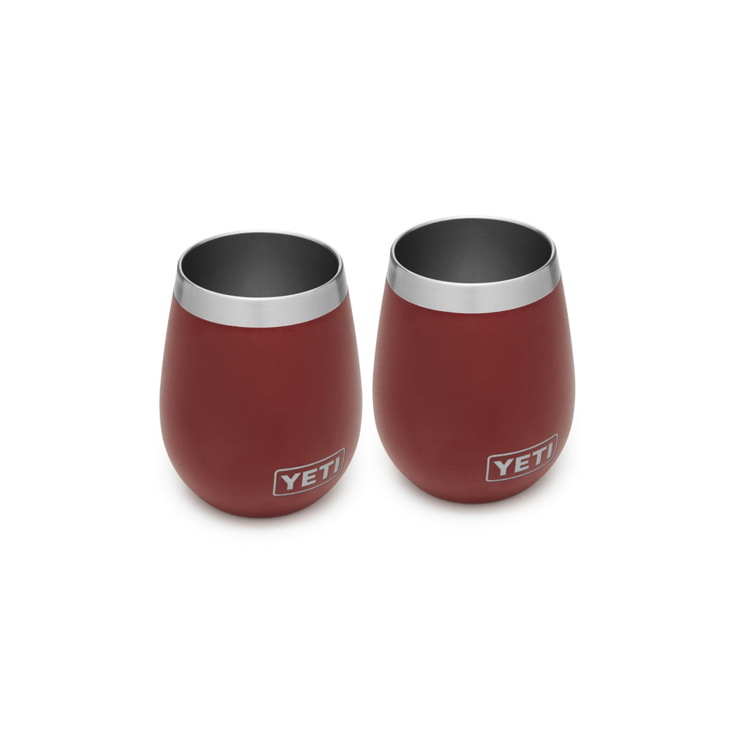 Yeti Rambler 10 Wine Tumbler Pair - Brick Red
