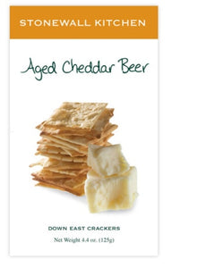 Aged Cheddar Beer Crackers by Stonewall Kitchen