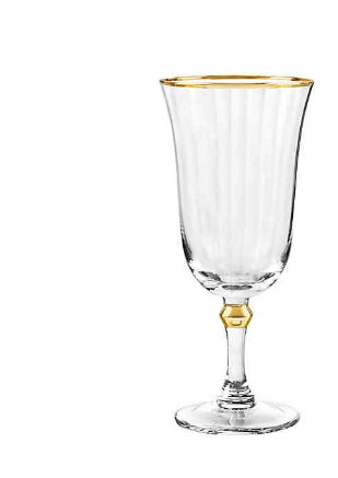 Salem Gold Iced Tea Glass by Qualia
