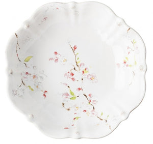 "Berry & Thread Floral Sketch Cherry Blossom 13"" Serving Bowl by Juliska"