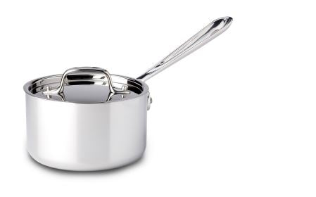 All-Clad 1 Qt Stainless Saucepan w/Lid