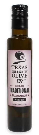Texas Hill Country Olive Co. Traditional Balsamic Vinegar – No Sugar Added