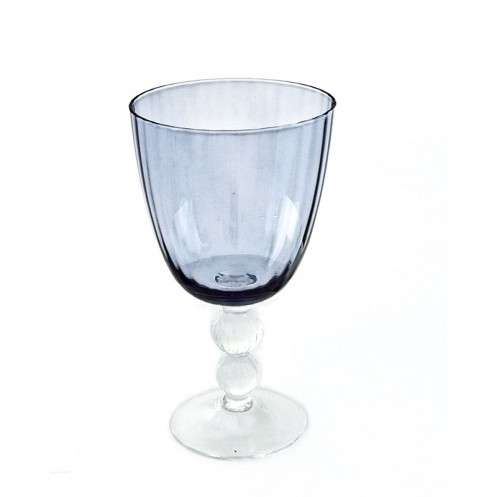 Beatriz Ball Glass Venice Goblet Blue