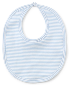 Kissy Kissy, Blue Stripes Bib