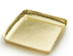 El Dorado Brass Tray 9x9 - Mary Jurek