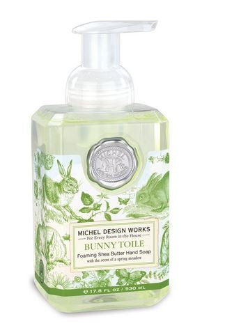 Bunny Toile Foaming Hand Soap by Michel Design Works