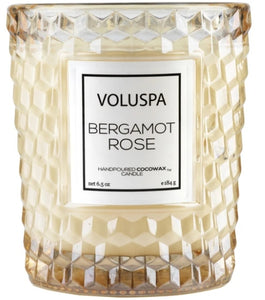 Voluspa - Bergamot Rose Candle in Glass